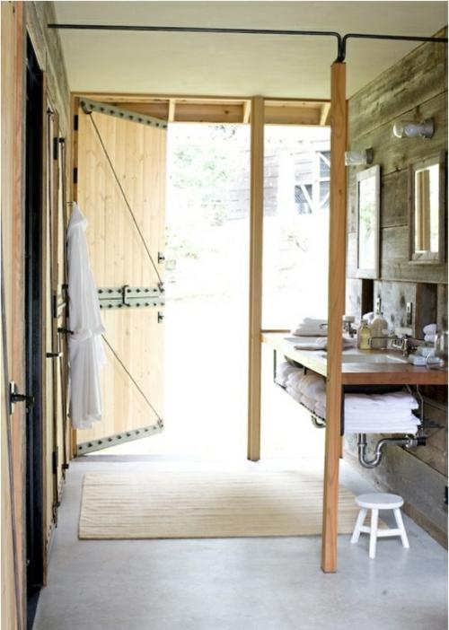 rustikale badezimmer design ideen scheunen outfit