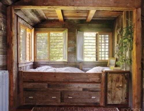 10 rustikale bett designs den landhausstil nach hause. Black Bedroom Furniture Sets. Home Design Ideas