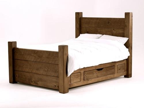 10 rustikale bett designs den landhausstil nach hause einladen. Black Bedroom Furniture Sets. Home Design Ideas
