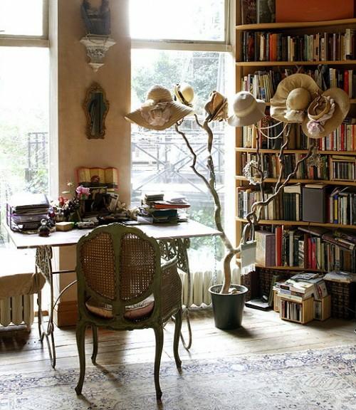 schöne deko ideen mit hüten elegant tisch klassisch