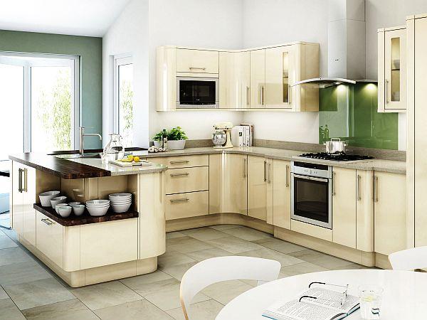 schöne küchen farbpalette holz möbel hell behaglich einrichtung