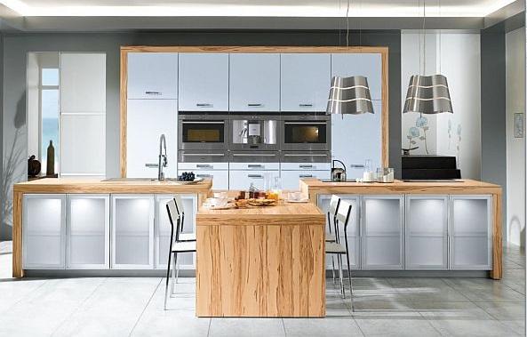 schöne küchen farbpalette holz möbel idee design