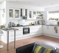 Schöne Küchen Farbpalette – 14 erstaunliche farbenfrohe Design Ideen