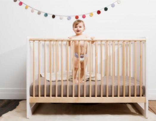 schöne umweltfreundliche kinder möbel gitterbett design