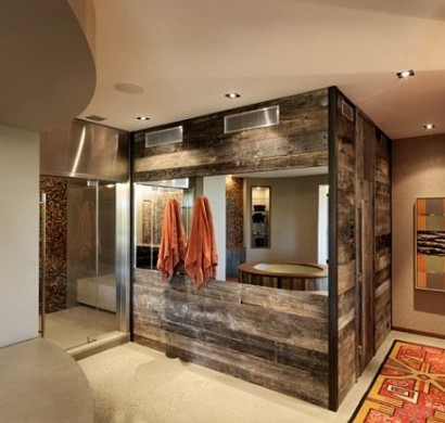 sch ne wandgestaltung ideen wand bekleidung aus holz selber machen. Black Bedroom Furniture Sets. Home Design Ideas