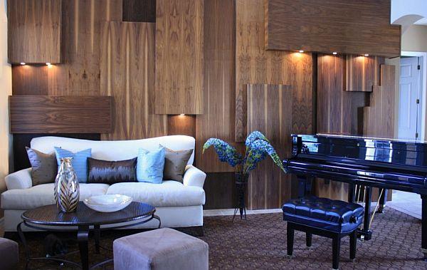 schöne wandgestaltung ideen indirekt beleuchtung wohnzimmer