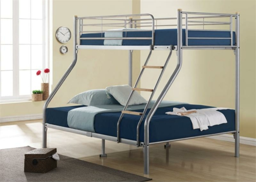 Bunk Beds Twin Over Twin Metal Frame