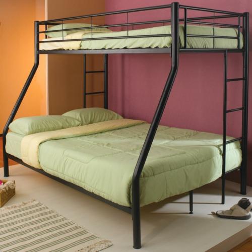 hochbett doppelbett wohndesign und inneneinrichtung. Black Bedroom Furniture Sets. Home Design Ideas