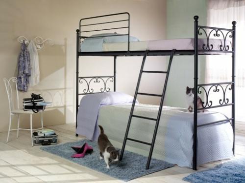 Etagenbett Metall Günstig : Spielbetten und etagenbetten für kinder etagenbett mit zubehör