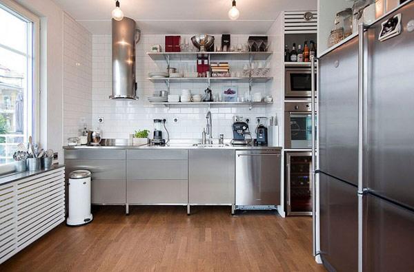 extravagantes modernes dach apartment modern küchen bereich