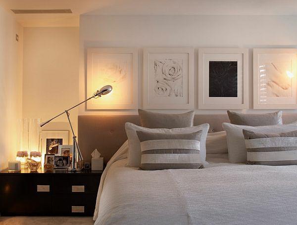 schicke bettwäsche designs im schlafzimmer, Schlafzimmer design