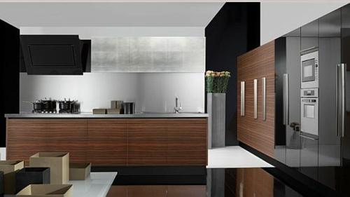 schicke küchen designs holz einrichtung küchenschränke