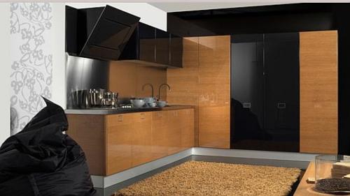 schicke küchen designs weiß glanzvoll gemütlich traditionell