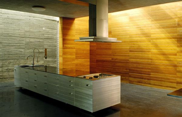 schicke moderne holz küchen designs arbeitsplatte insel