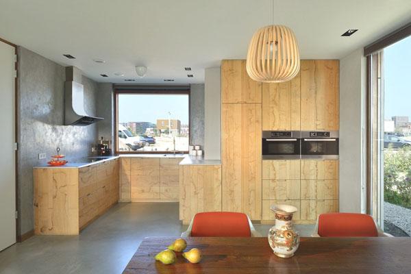 schicke moderne holz küchen designs esszimmer u förmig möbel