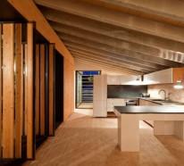Schicke moderne Holz Küchen Designs – Lassen Sie sich inspirieren !