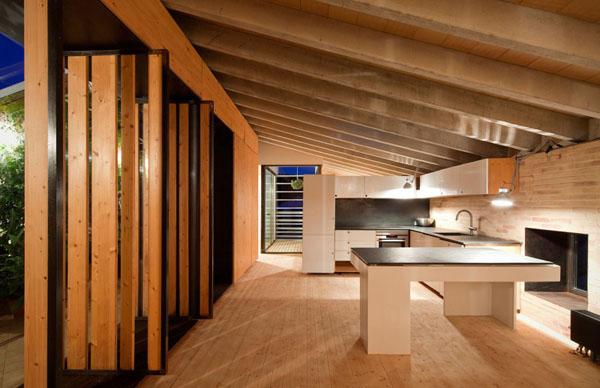 schicke moderne holz küchen designs modular arbeitsplatte