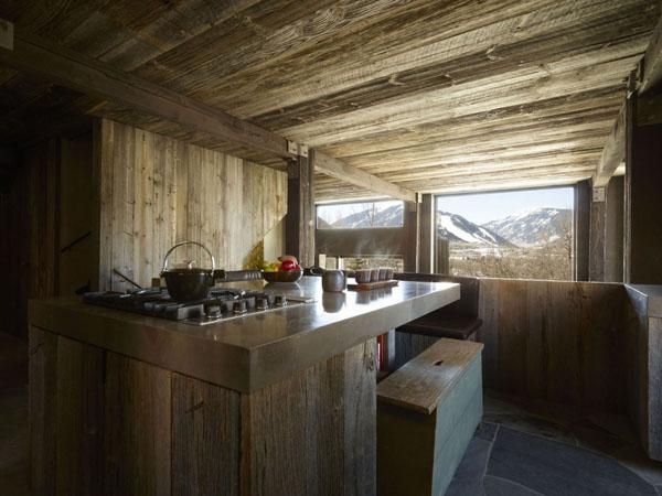 schicke moderne holz küchen designs rustikale einrichtung