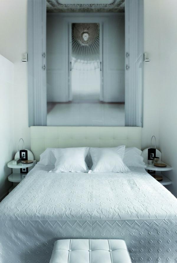 Schickes zentrales Hotel Design barcelona schlafzimmer
