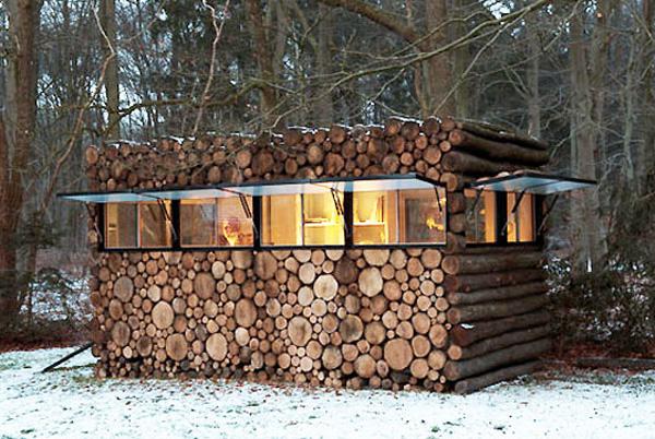 Gartenmobel Bank Alu : schicke moderne Berghütten von berühmten Architekten entworfen