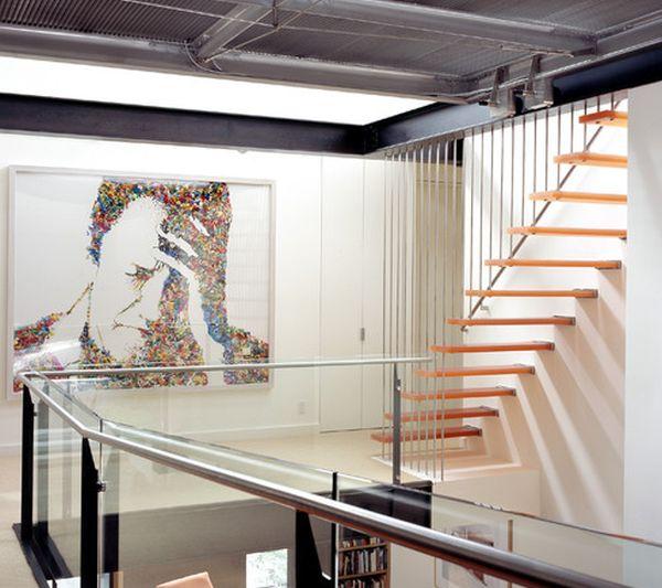 32 schwebende treppe ideen fürs zeitgenössische zuhause