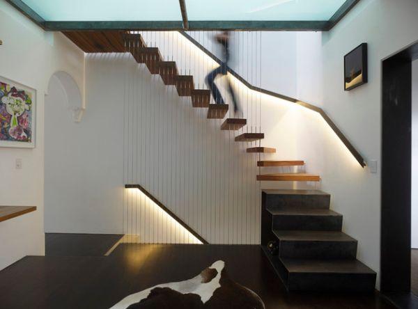 Design Offene Treppe Im Wohnzimmer Offene Treppe Wohnzimmer, Wohnzimmer