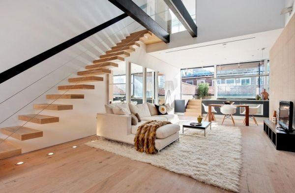 treppe wohnzimmer:Bedroom Duplex House Interior Designs