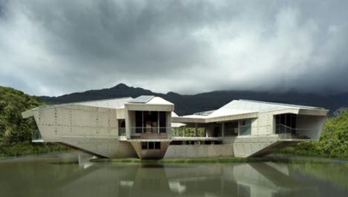 solides futuristisches haus design australien struktur