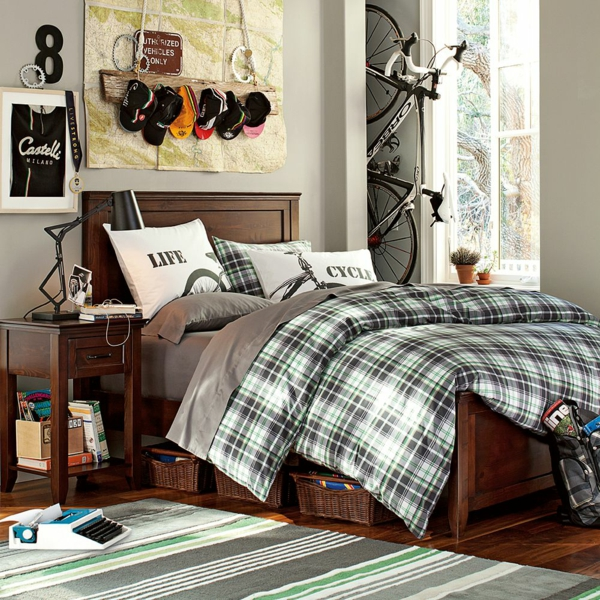 Cooles Trendy Teenager Zimmer Für Jungen U2013 Moderne Einrichtung