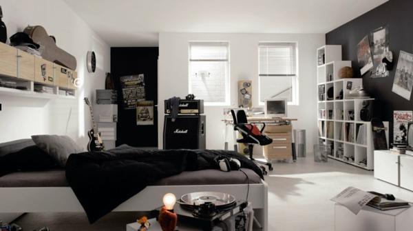 Cooles trendy teenager zimmer f r jungen moderne einrichtung - Zimmer fur teenager ...