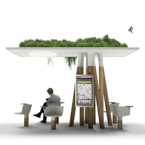 wifi internet station paris technischer fortschritt innovation bepflanzung