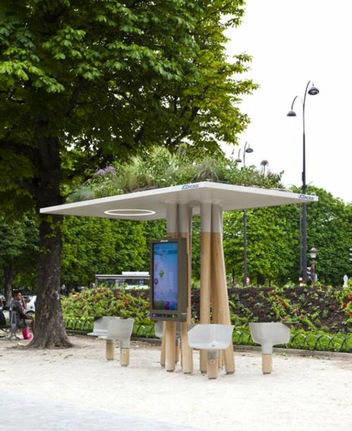 wifi internet station paris technischer fortschritt originell