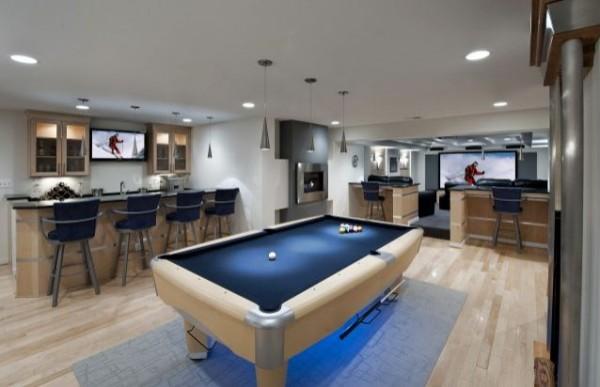 Kellerraum einrichten ideen  wohnzimmer-oder-spielplatz-im-keller-gestalten-billard.jpg 600×387 ...