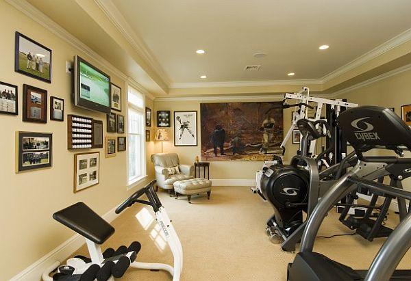 wohnzimmer oder spielplatz im keller gestalten sport treiben