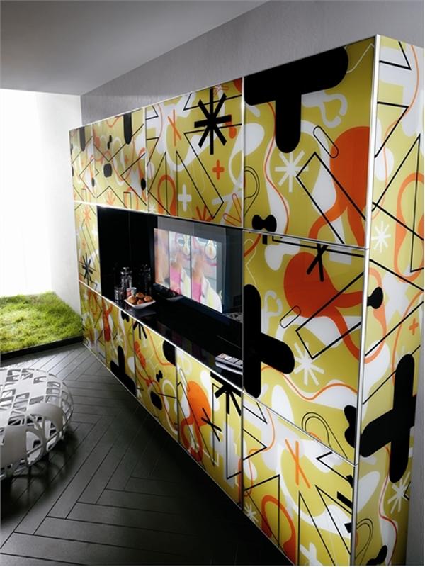 Wunderbare Designer Küchen Möbel Aus Glas Eigenartig Originell Design