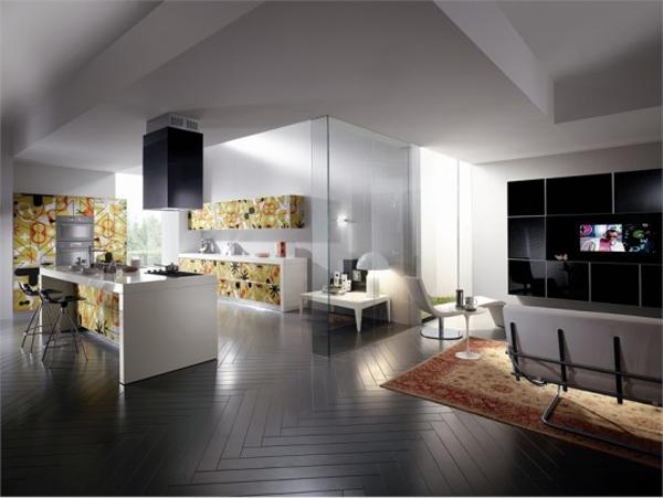 Wunderbare Moderne Küchen Möbel Aus Glas Esszimmer Teppich