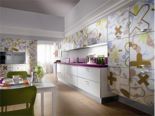 Wunderbare Moderne Küchenmöbel Aus Glas Idee Design