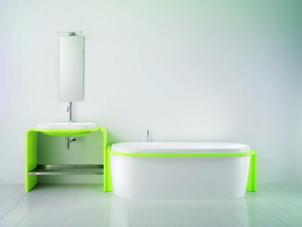 weißes badezimmer design waschbecken badewanne