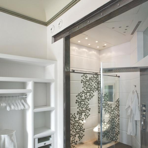 zentrales hotel barcelona weiß einrichtung luxus ankleideraum