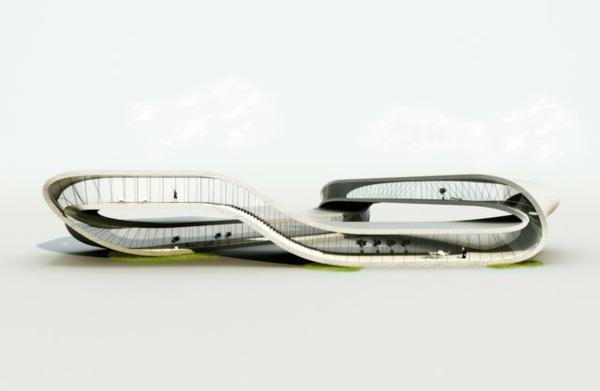 3d druck für architektur visualisierung modell bilderbau baustruktur