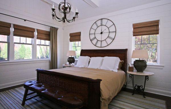Attraktive Wanduhr Designs klassisch groß kronleuchter schlafzimmer