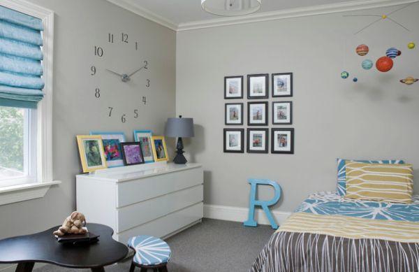 Attraktive Wanduhr Designs schlafzimmer bilder bettwäsche kommode