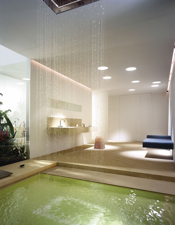 Dornbracht Armaturen Dusche : Waterfall Showers Bathroom Designs