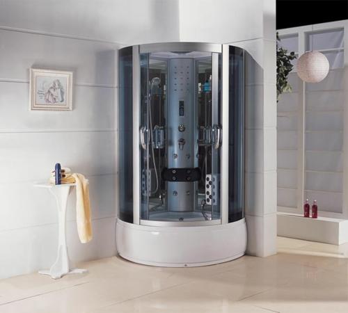 Bilder von innovativen Dampfduschen badezimmer eingebaut rund