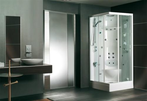 45 bilder von innovativen dampfduschen f r ein modernes for Badezimmer design foto