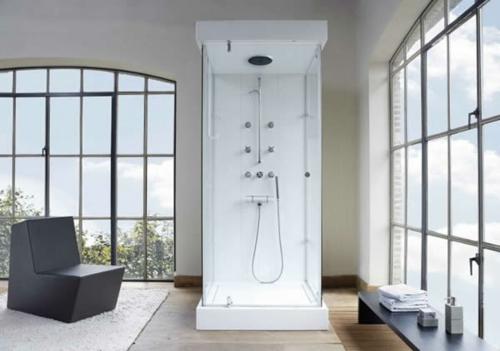 Bilder von innovativen Dampfduschen badezimmer sessel fenster