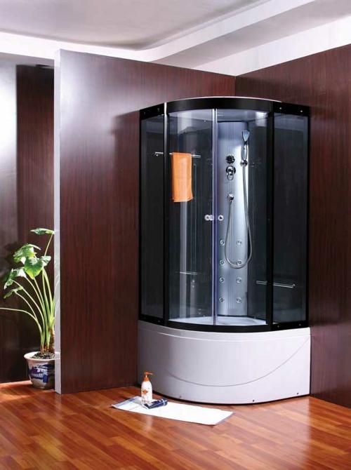 Bilder von innovativen Dampfduschen badezimmer wandbelag holz