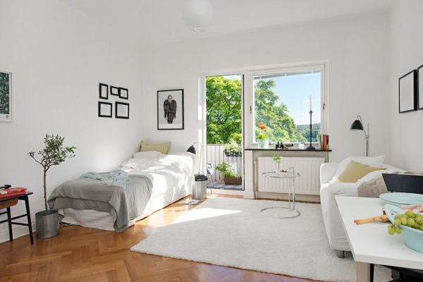 Einzimmerwohnung - Design