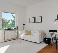 Charmante Einzimmerwohnung in Schweden mit den besten Vorteilen aus zwei Epochen