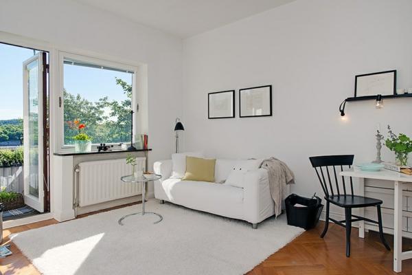 Charmante einzimmerwohnung in schweden mit vorteilen aus for Sofa schweden